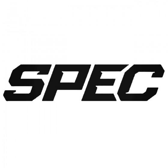 Spec Clutches Decal Sticker