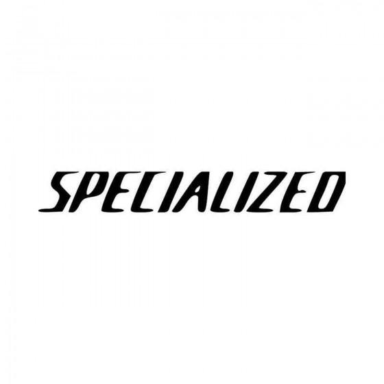 Specialized Text Logo Vinyl...