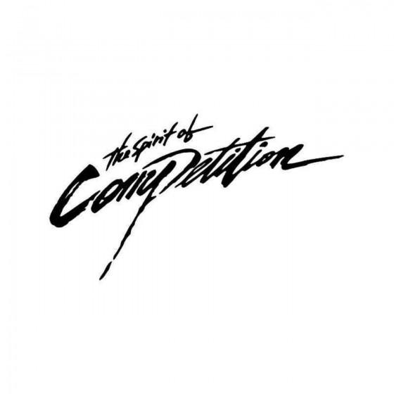 Spirit Of Competition Vinyl...