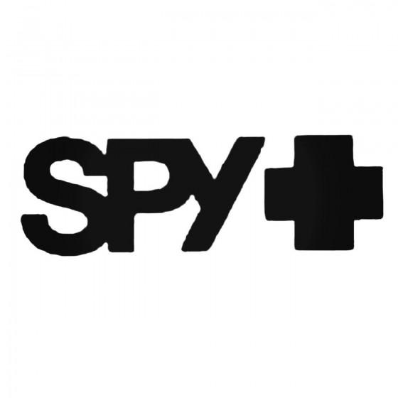 Spy Logo Decal Sticker