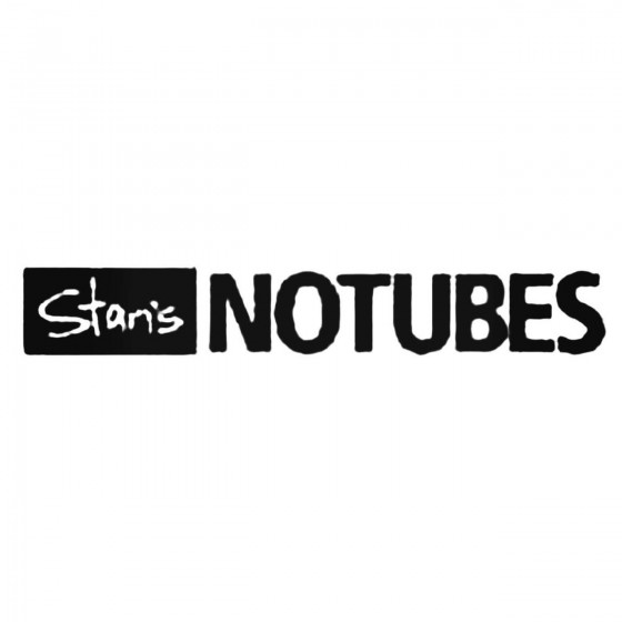 Stans No Tubes Full Decal...