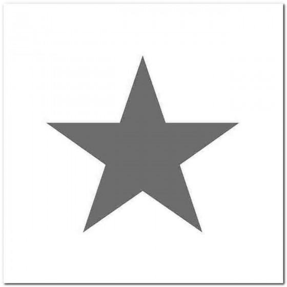 Star Decal Sticker