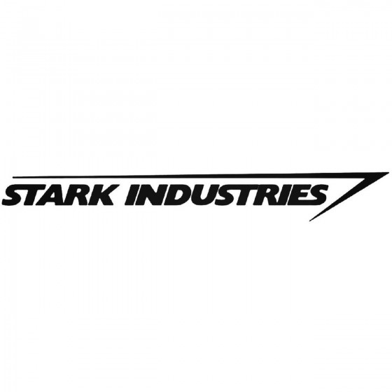 Stark Industries 695 Decal...