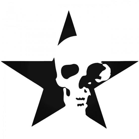 Star Skull 170 Decal