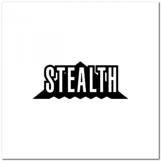 Stealth Vinyl Decal
