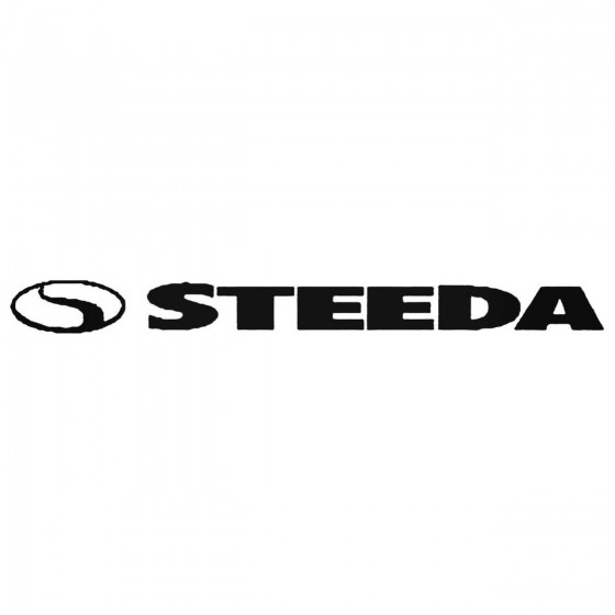 Steeda 01 Decal Sticker