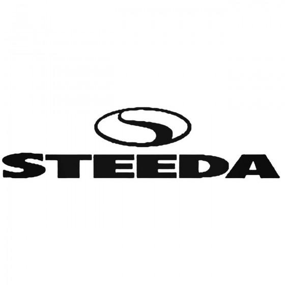 Steeda 02 Decal Sticker