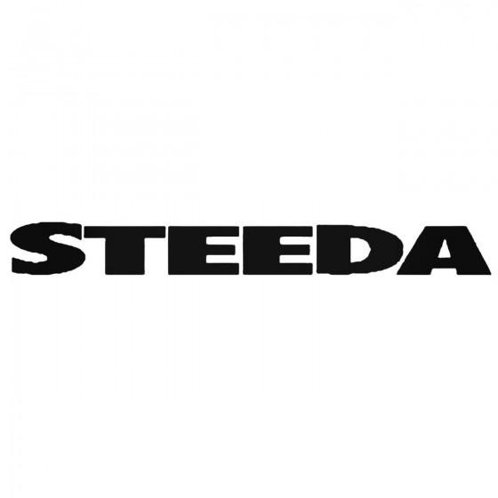 Steeda 03 Decal Sticker