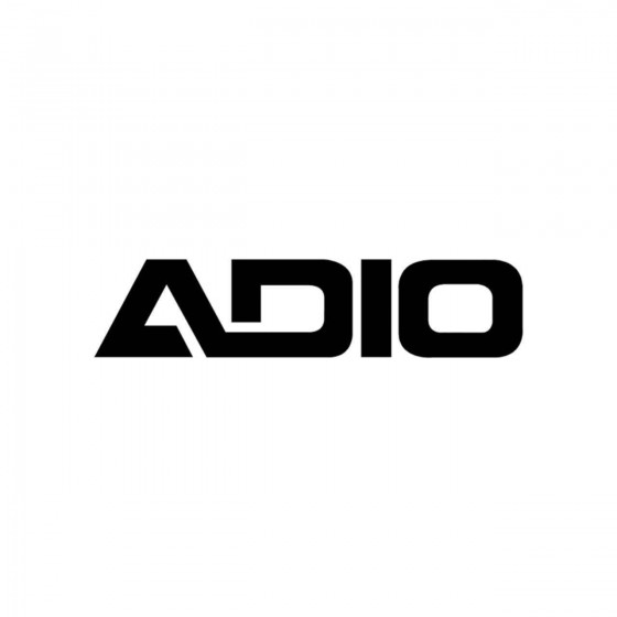Stickers Adio Vinyl Decal...