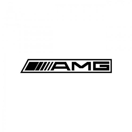 Stickers Amg Reverse Vinyl...