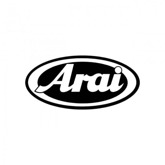 Stickers Arai Vinyl Decal...