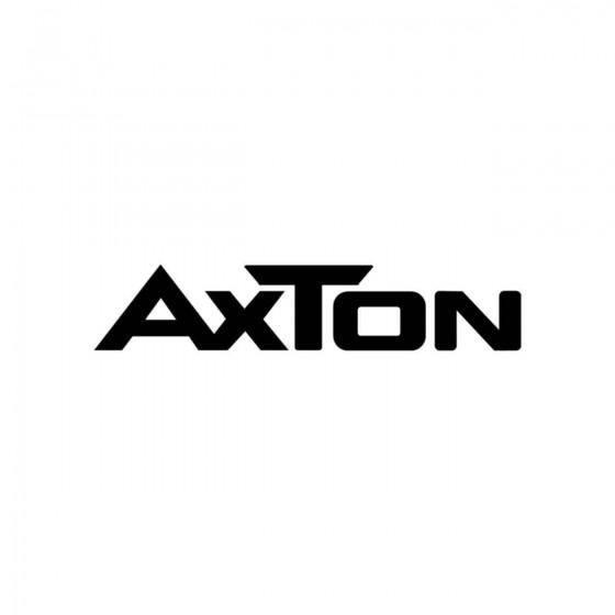 Stickers Axton Logo Vinyl...