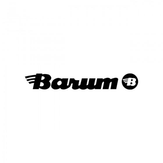 Stickers Barum Logo Vinyl...