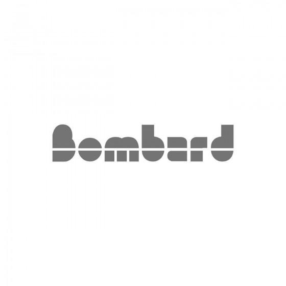 Stickers Bombard 2 Vinyl...