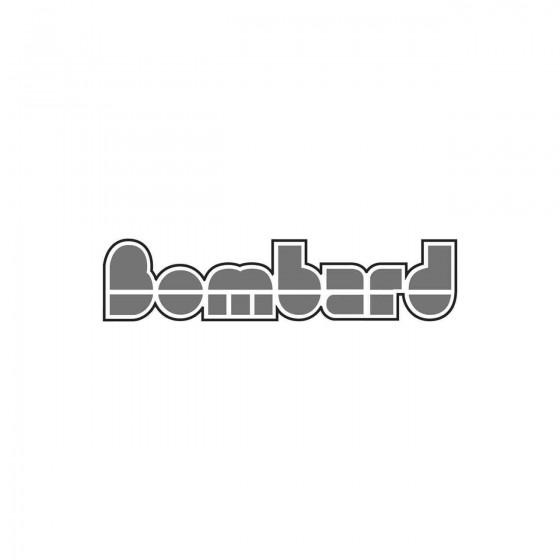Stickers Bombard Logo Vinyl...