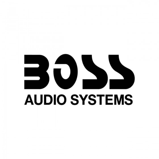 Stickers Boss Audio Systems...
