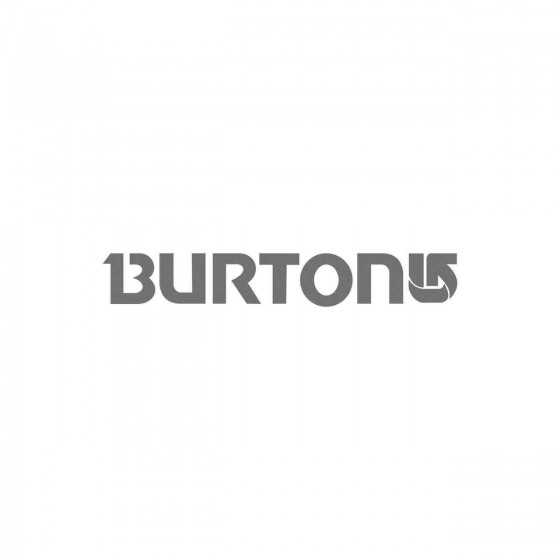 Stickers Burton Skate Vinyl...