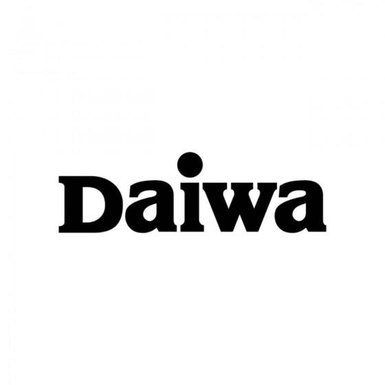 Stickers Daiwa Vinyl Decal...