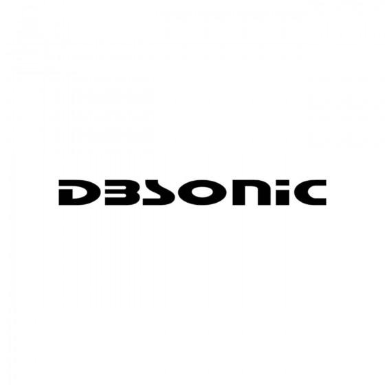 Stickers Dbsonic Vinyl...