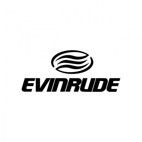 Stickers Evinrude Logo...