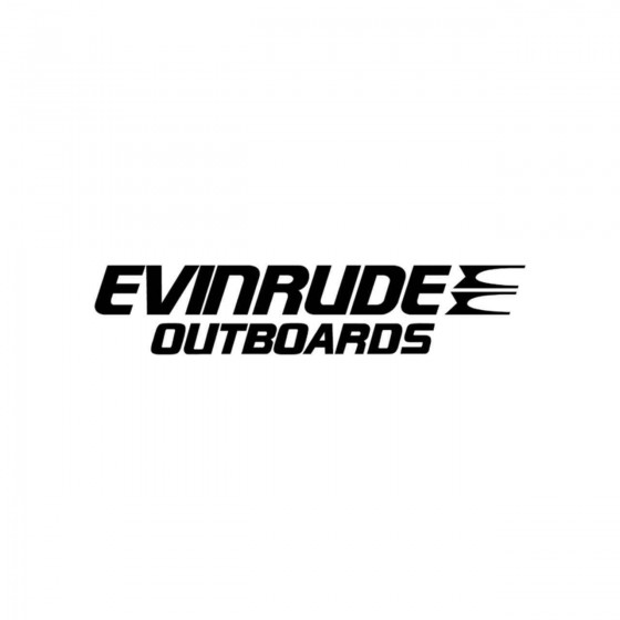 Stickers Evinrude Outboards...