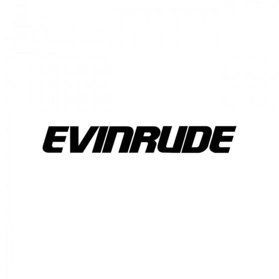 Stickers Evinrude Vinyl...