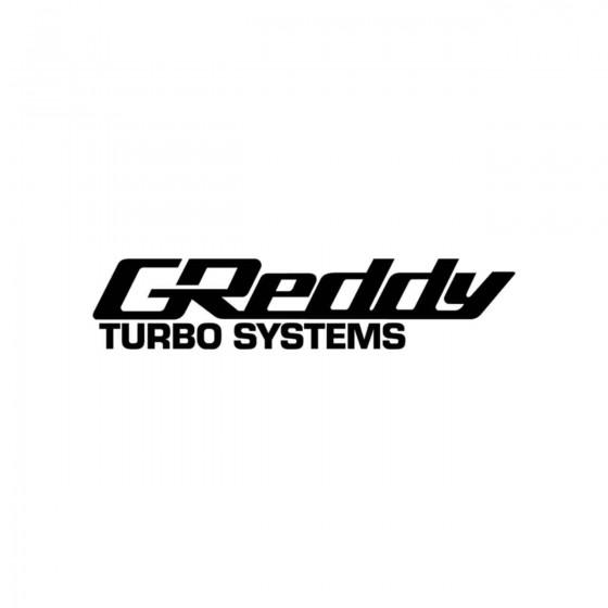 Stickers Greddy Turbo...