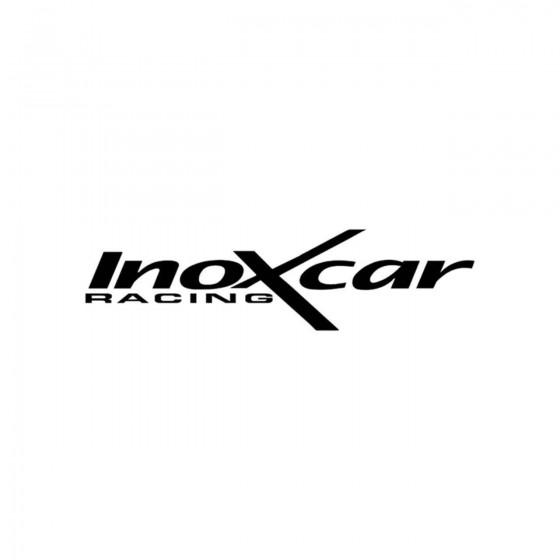 Stickers Inoxcar Racing...