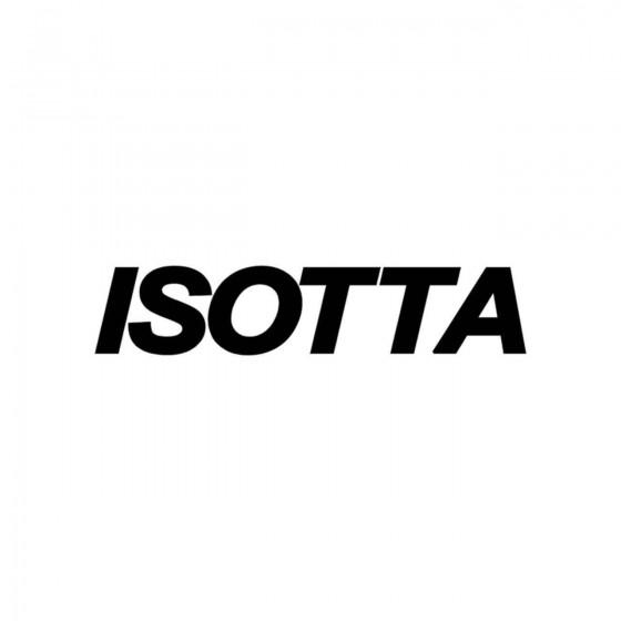 Stickers Isotta Ecriture...