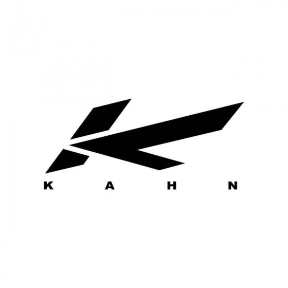 Stickers Kahn Logo Vinyl...
