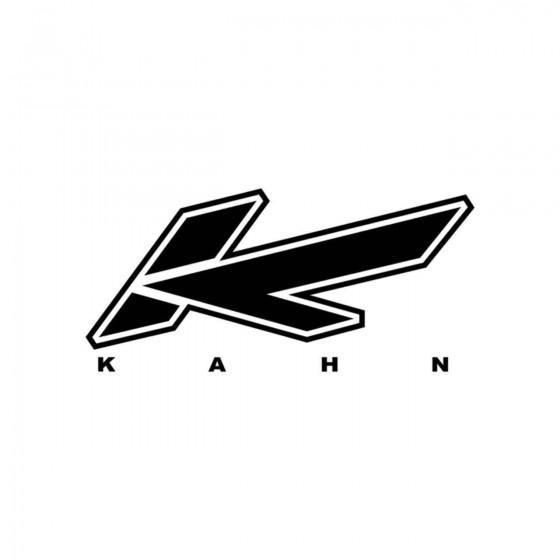 Stickers Kahn Vinyl Decal...