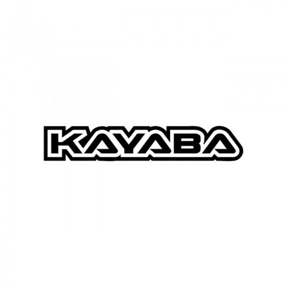 Stickers Kayaba Contours...