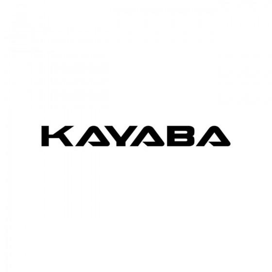 Stickers Kayaba Logo Vinyl...
