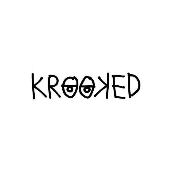 Stickers Krooked Vinyl...