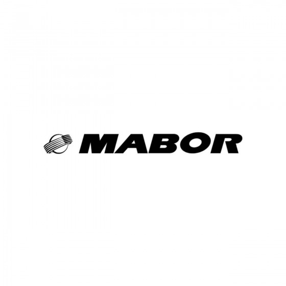 Stickers Mabor Vinyl Decal...