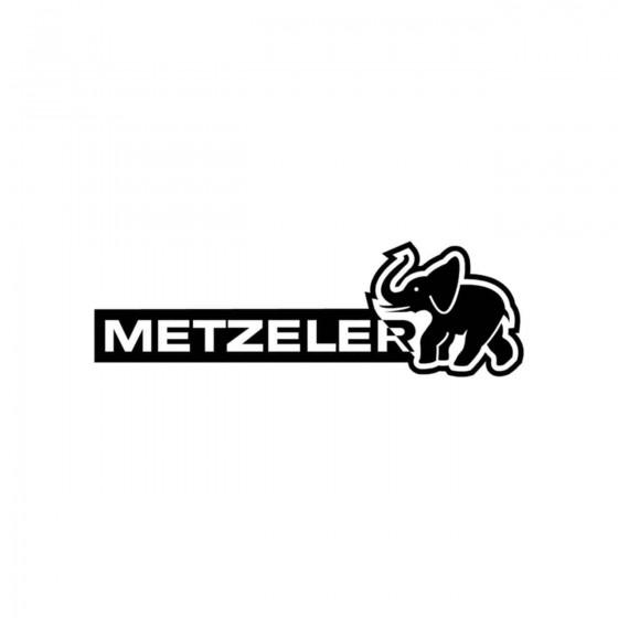 Stickers Metzeler Logo Var...