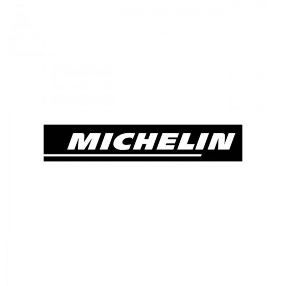 Stickers Michelin Sponsors...