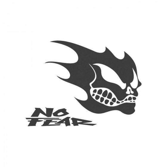 Stickers No Fear Crane D...