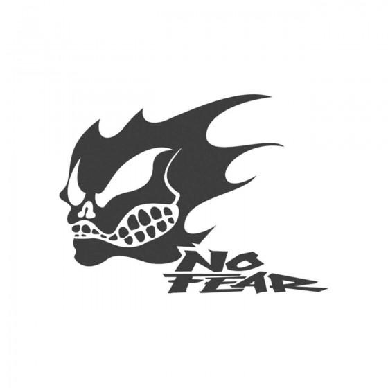Stickers No Fear Crane G...