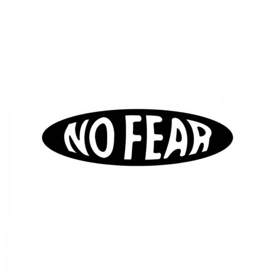 Stickers No Fear Ecriture...