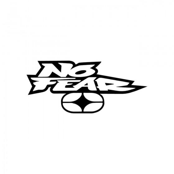 Stickers No Fear Logo Vinyl...