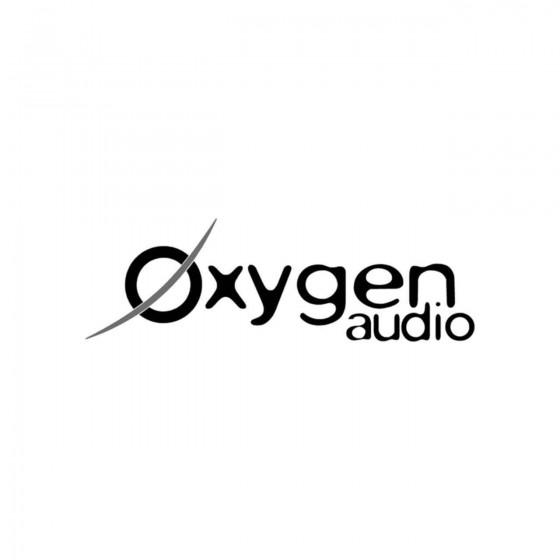 Stickers Oxygen Audio Vinyl...