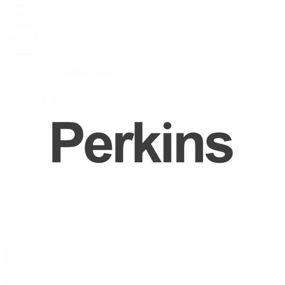 Stickers Perkins Vinyl...