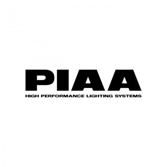 Stickers Piaa Logo Vinyl...