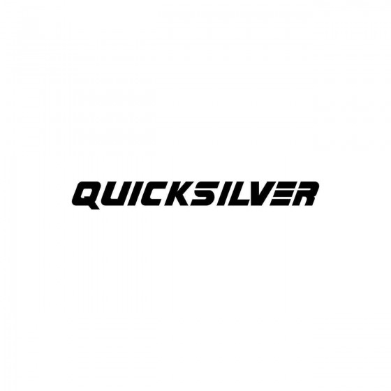 Stickers Quicksilver...