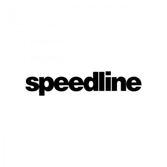 Stickers Speedline Vinyl...
