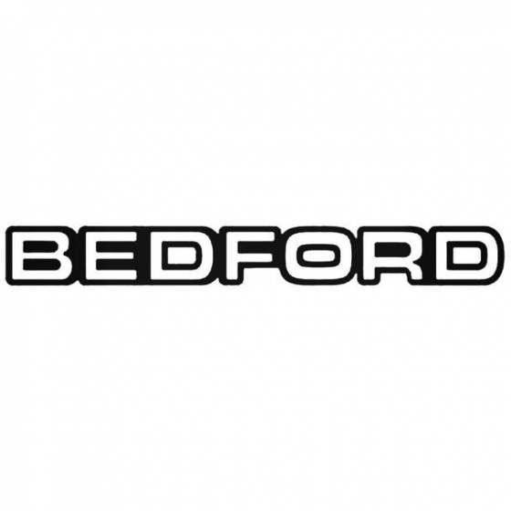 Bedford Camper Sticker