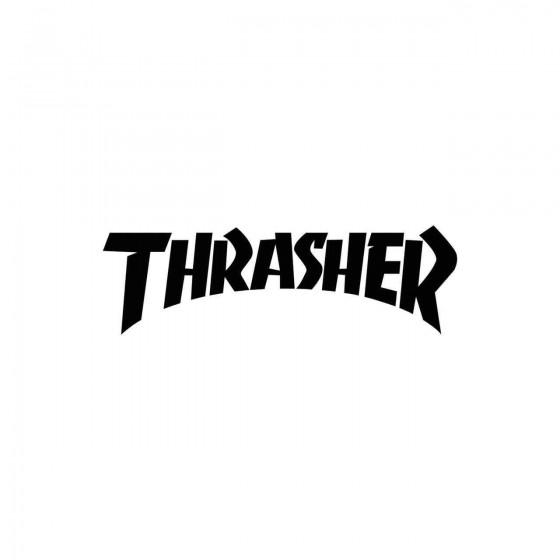 Stickers Trasher Vinyl...