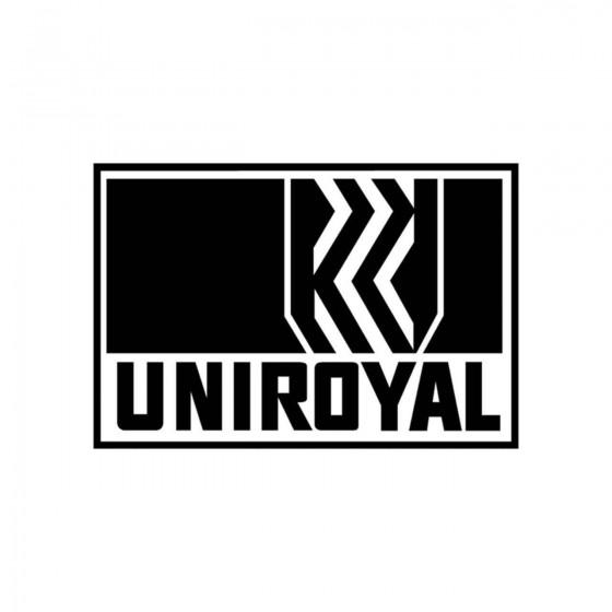 Stickers Uniroyal Logo...
