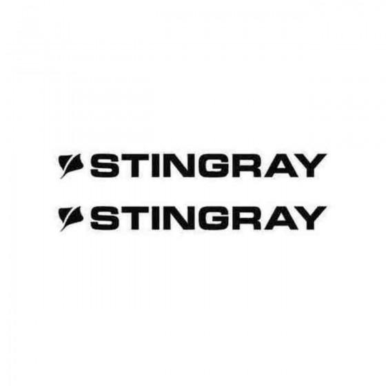 Stingray Boats S Decal Sticker